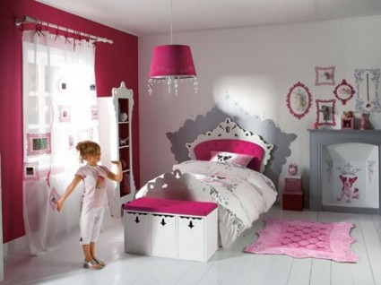 ideas para pintar la habitaci n de las ni as decoracion estilopeques. Black Bedroom Furniture Sets. Home Design Ideas